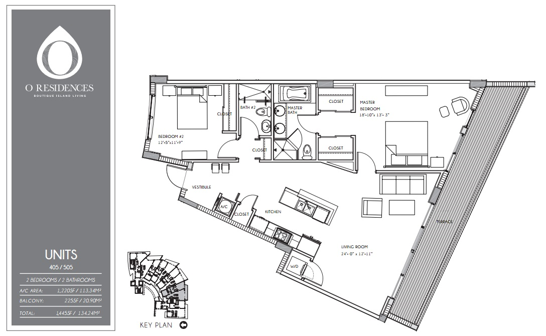 O Residences - Floorplan 6