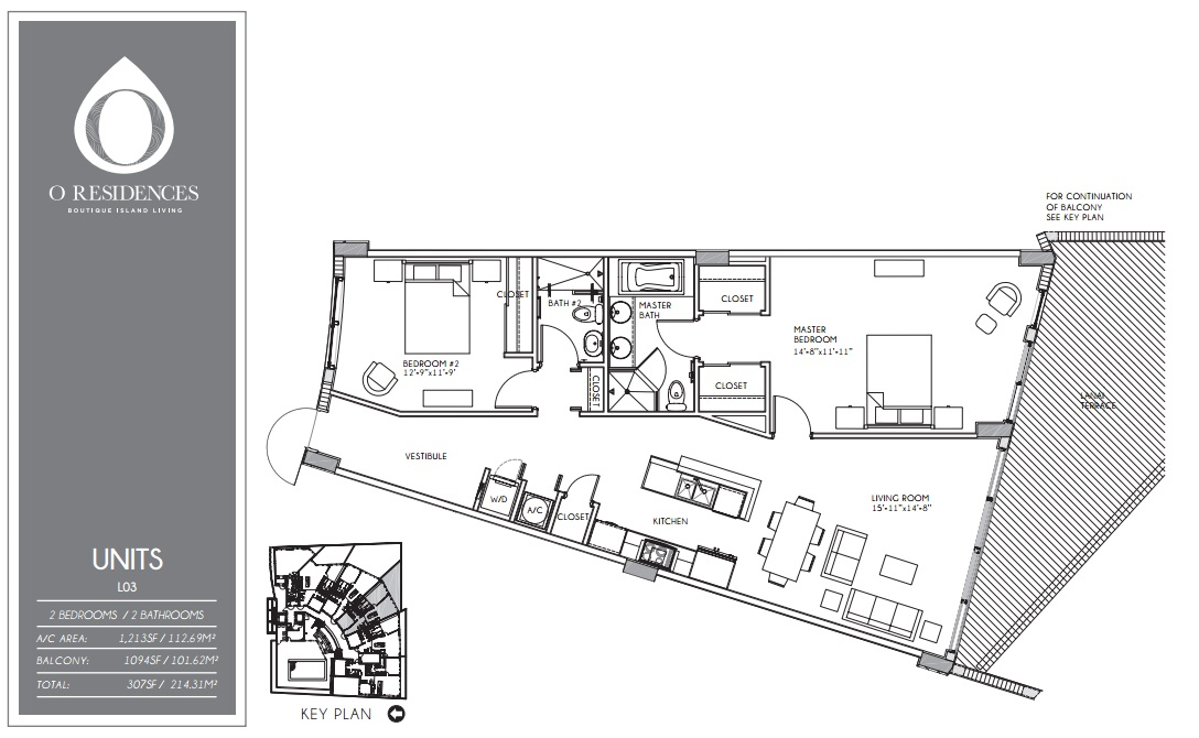 O Residences - Floorplan 7