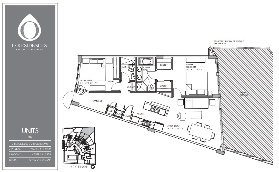 O Residences - Floorplan 8