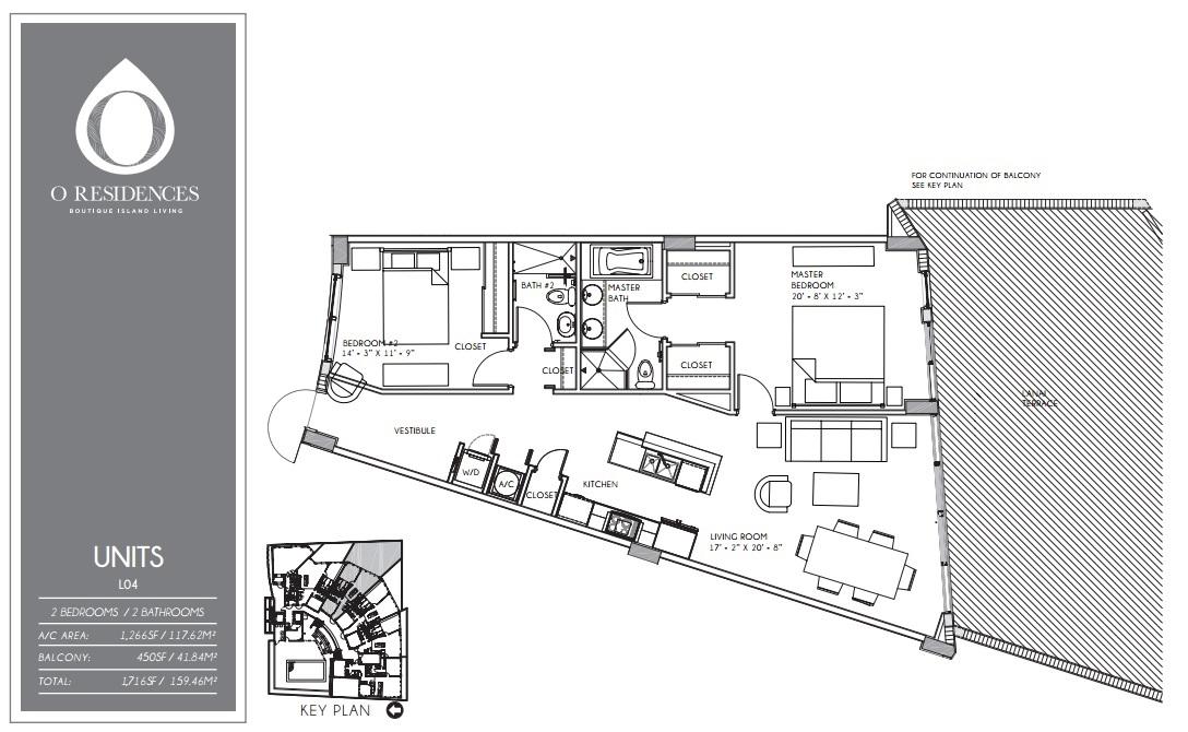 O Residences - Floorplan 8
