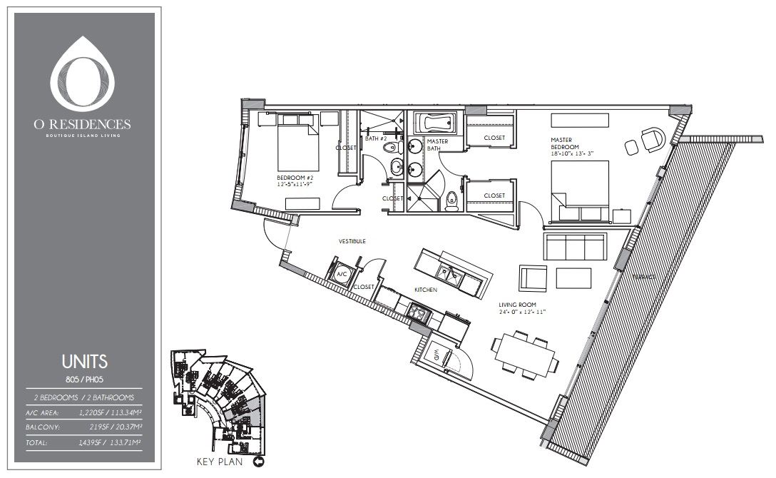 O Residences - Floorplan 9