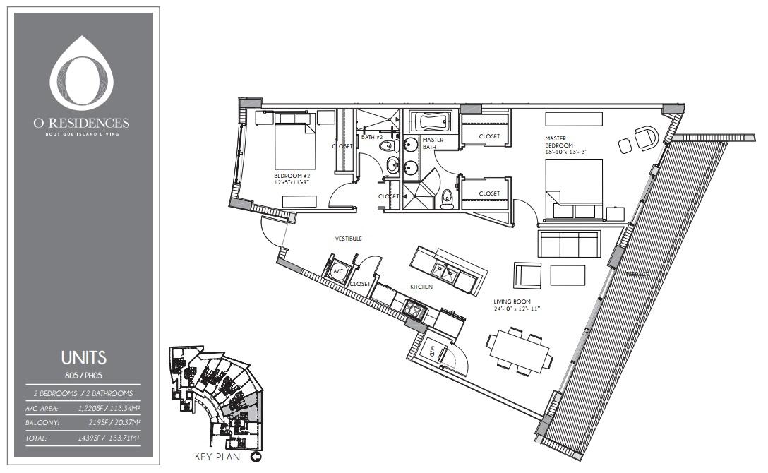 O Residences - Floorplan 9