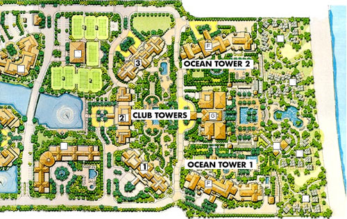 Ocean Club Ocean Tower 1 - Floorplan 1