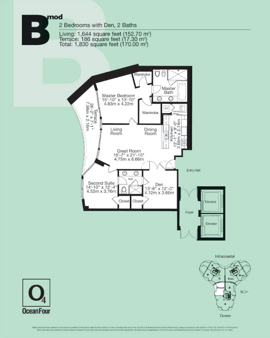 Ocean Four - Floorplan 1