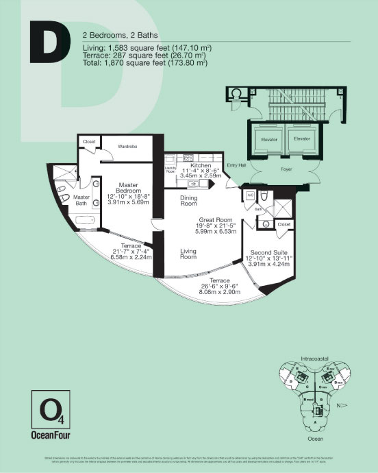 Ocean Four - Floorplan 2