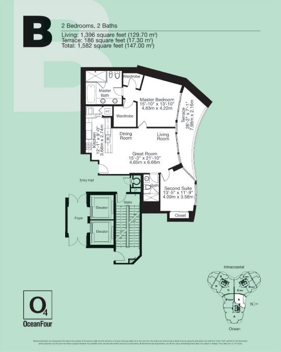 Ocean Four - Floorplan 3