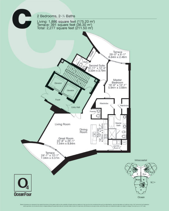 Ocean Four - Floorplan 4