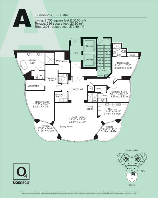 Ocean Four - Floorplan 5