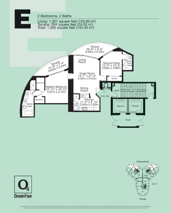 Ocean Four - Floorplan 7