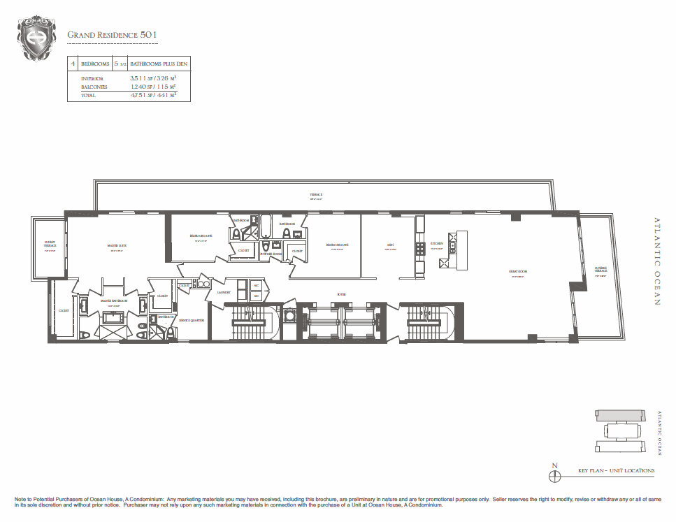 Ocean House - Floorplan 1