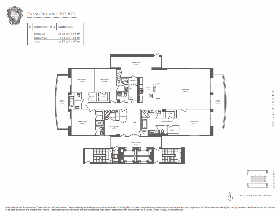 Ocean House - Floorplan 2