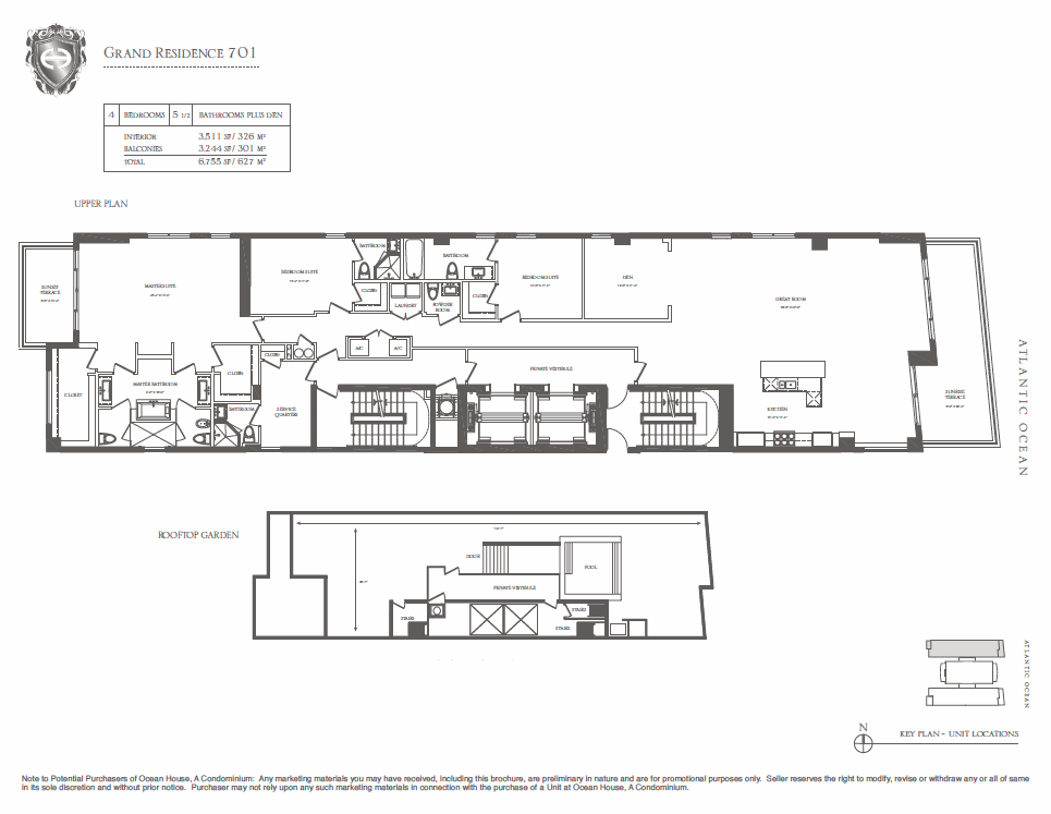 Ocean House - Floorplan 4