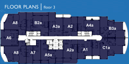 Ocean Marine Yacht Club - Floorplan 1