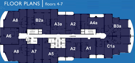 Ocean Marine Yacht Club - Floorplan 3