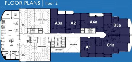Ocean Marine Yacht Club - Floorplan 4
