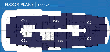 Ocean Marine Yacht Club - Floorplan 5