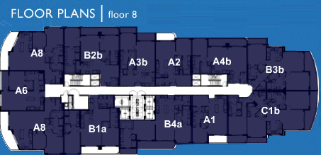 Ocean Marine Yacht Club - Floorplan 6