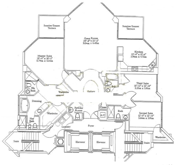 Ocean One - Floorplan 1