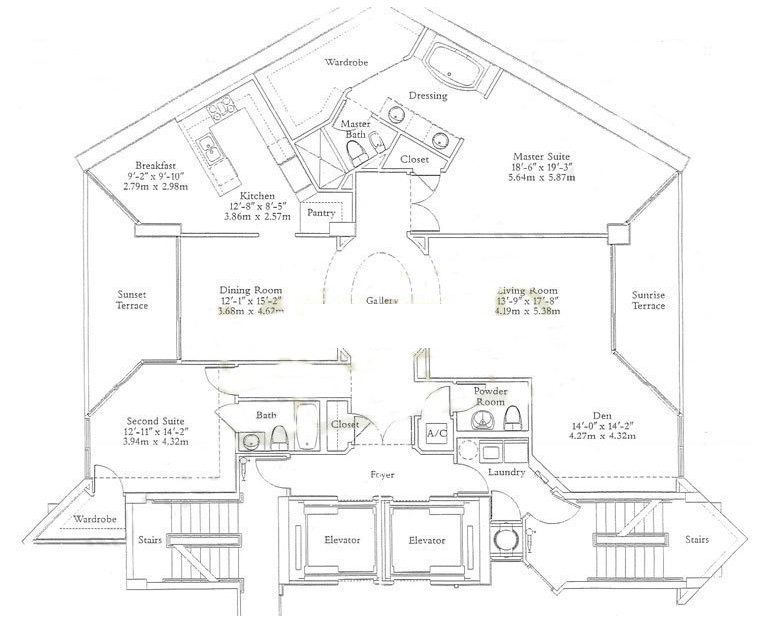 Ocean One - Floorplan 2
