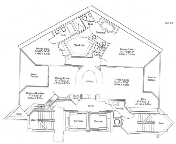 Ocean One - Floorplan 3