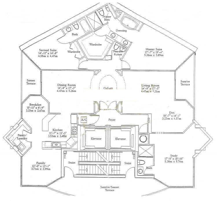 Ocean One - Floorplan 4