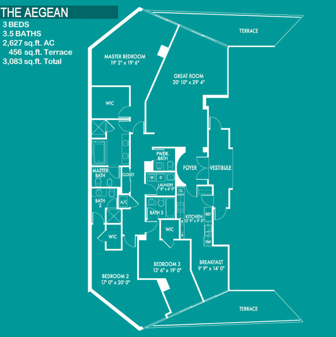 Ocean Palms - Floorplan 5