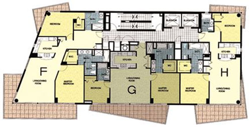 Ocean Place East - Floorplan 1