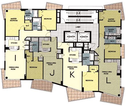 Ocean Place West - Floorplan 1