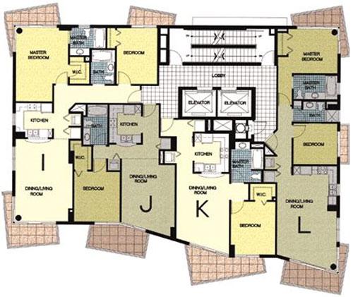 Ocean Place West - Floorplan 1