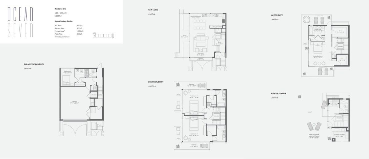 Ocean Seven - Floorplan 1