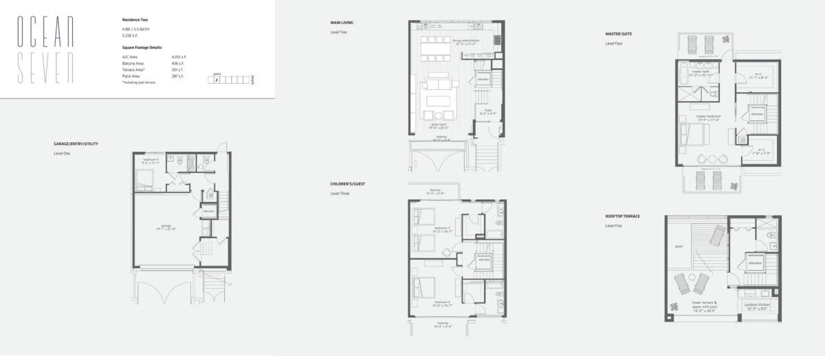 Ocean Seven - Floorplan 4