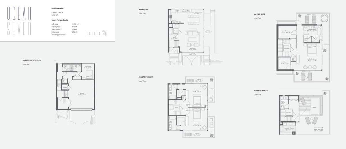 Ocean Seven - Floorplan 7