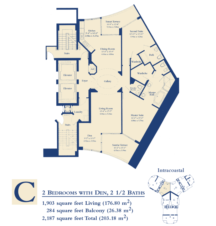 Ocean Three - Floorplan 3