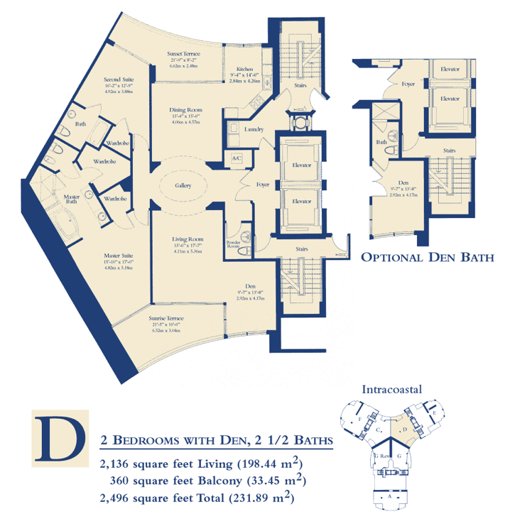 Ocean Three - Floorplan 5