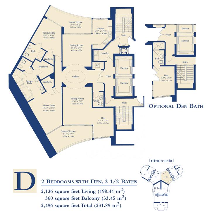 Ocean Three - Floorplan 5