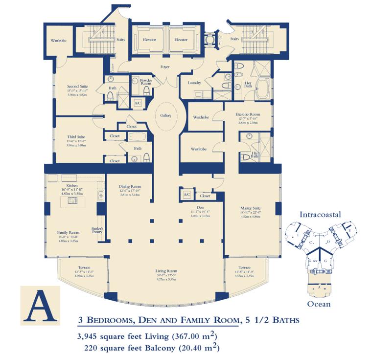 Ocean Three - Floorplan 6