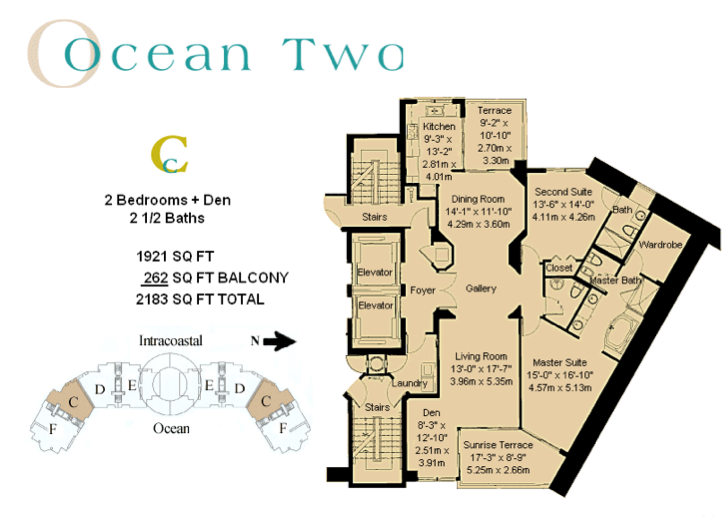 Ocean Two - Floorplan 3