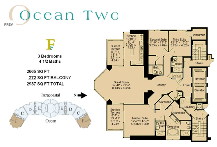 Ocean Two - Floorplan 4