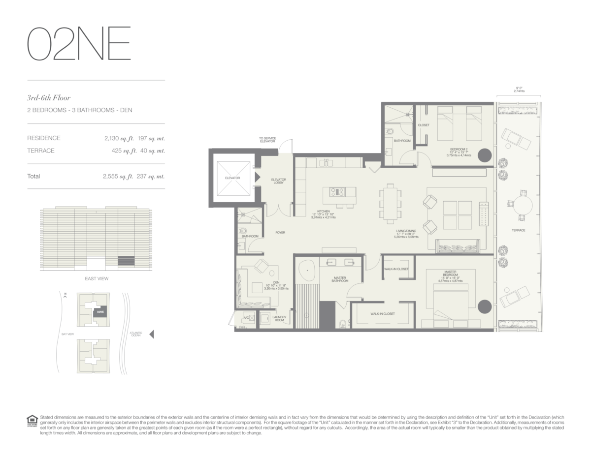 Oceana Bal Harbour - Floorplan 5