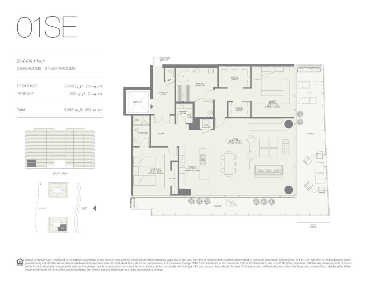 Oceana Bal Harbour - Floorplan 6