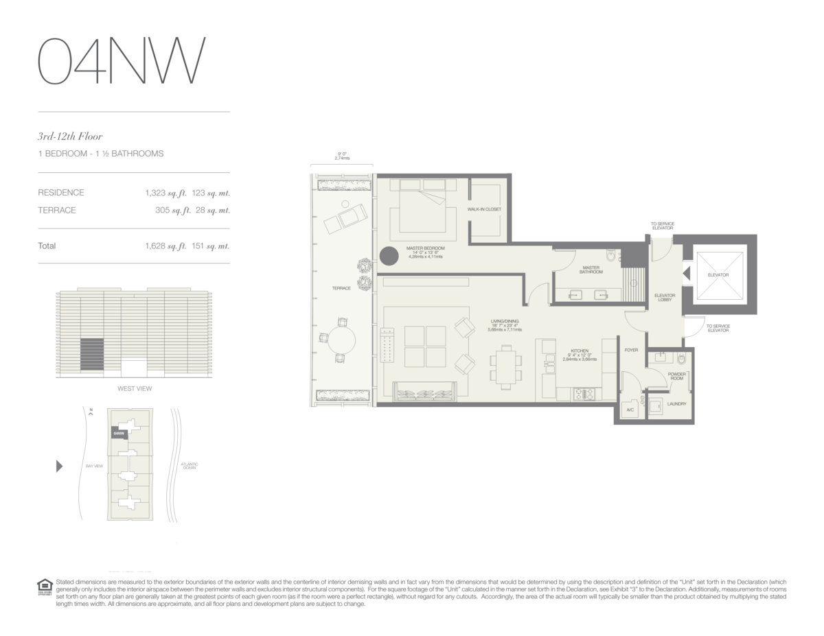 Oceana Bal Harbour - Floorplan 7