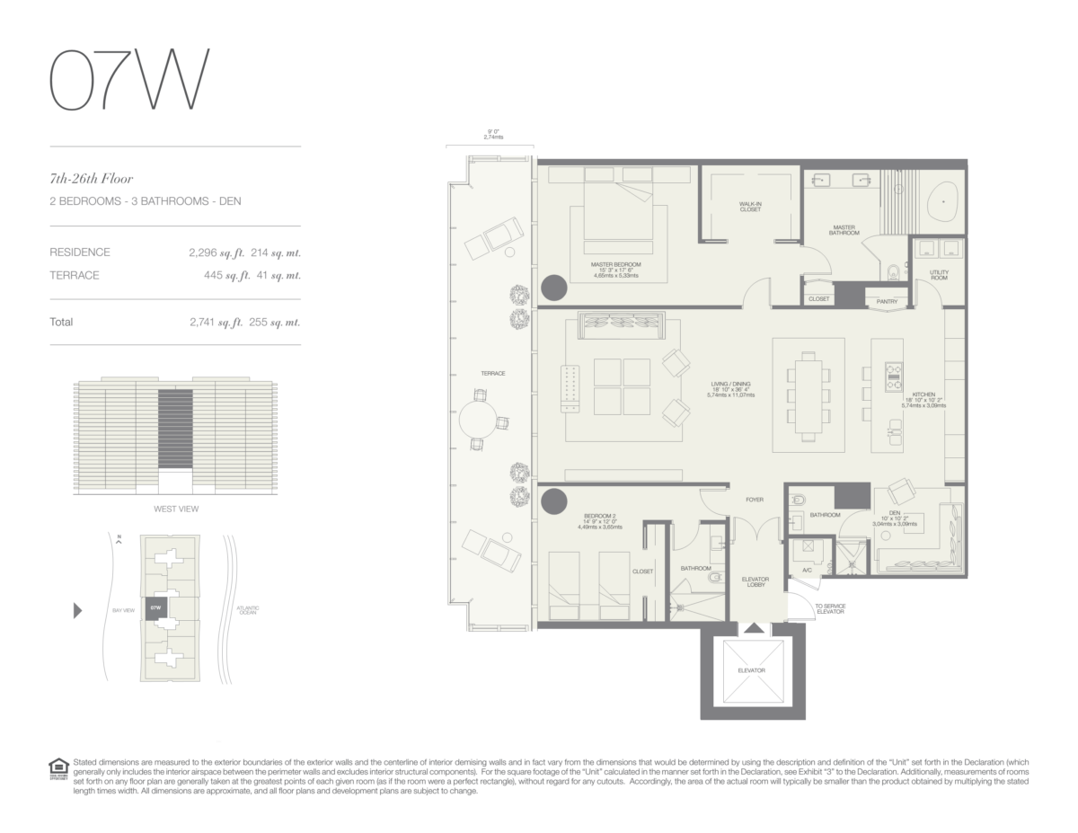 Oceana Bal Harbour - Floorplan 17