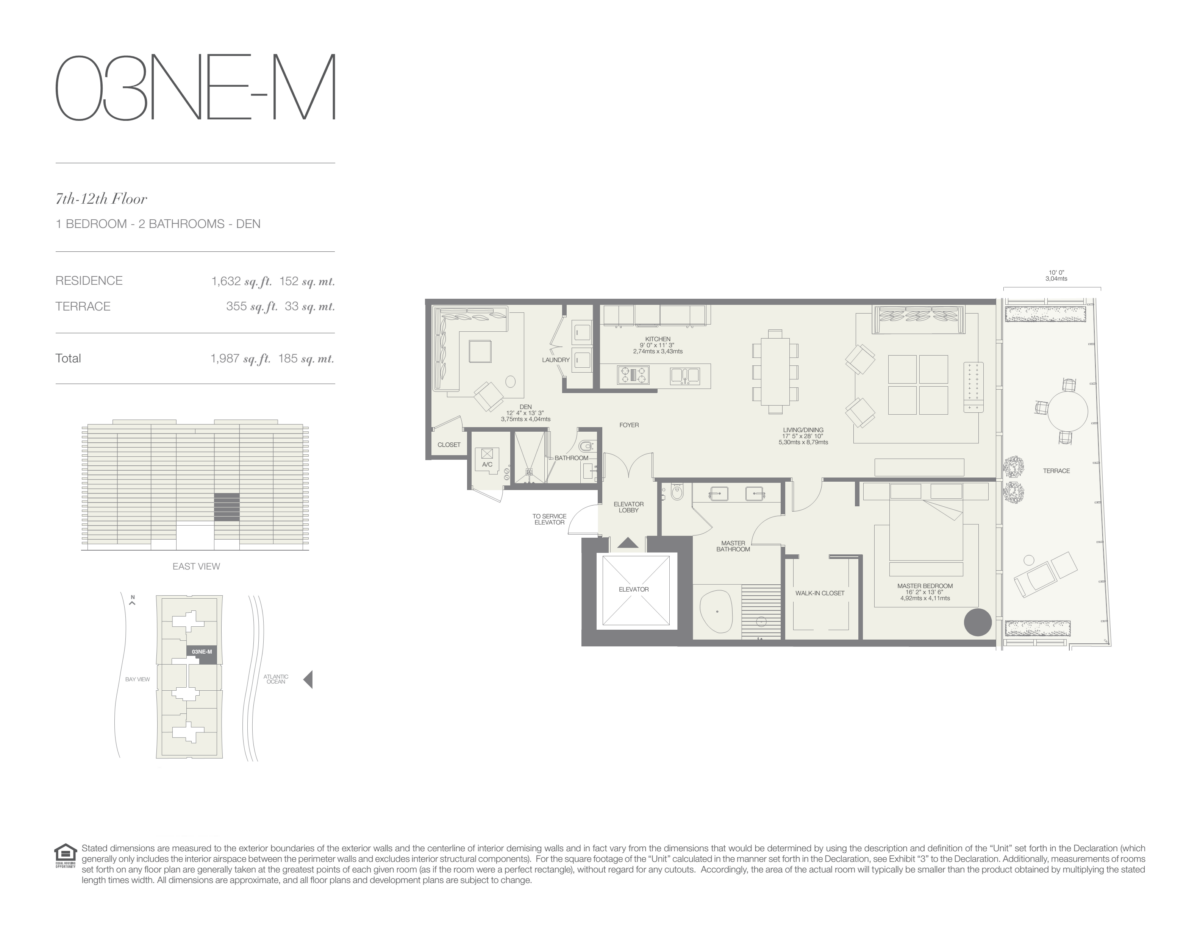 Oceana Bal Harbour - Floorplan 18