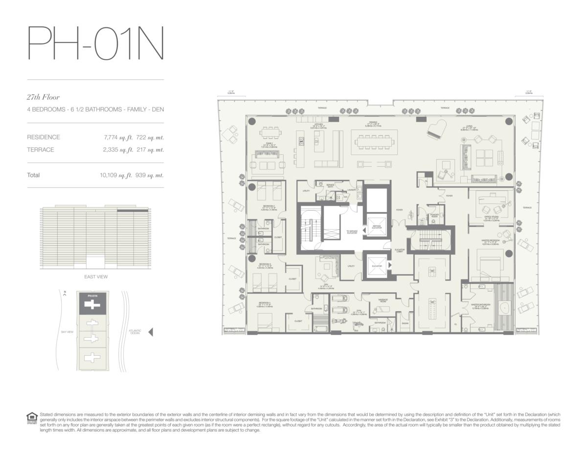 Oceana Bal Harbour - Floorplan 20