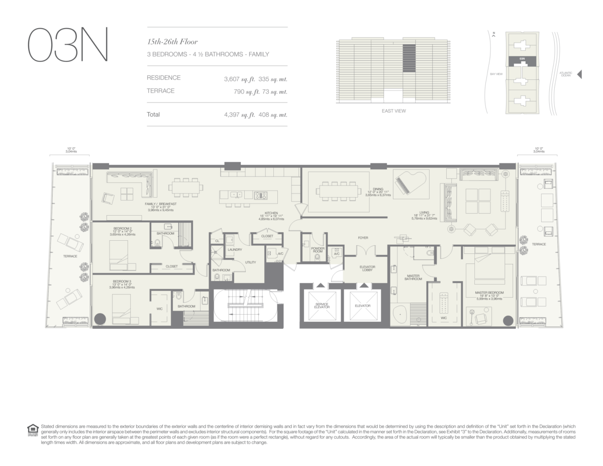 Oceana Bal Harbour - Floorplan 23