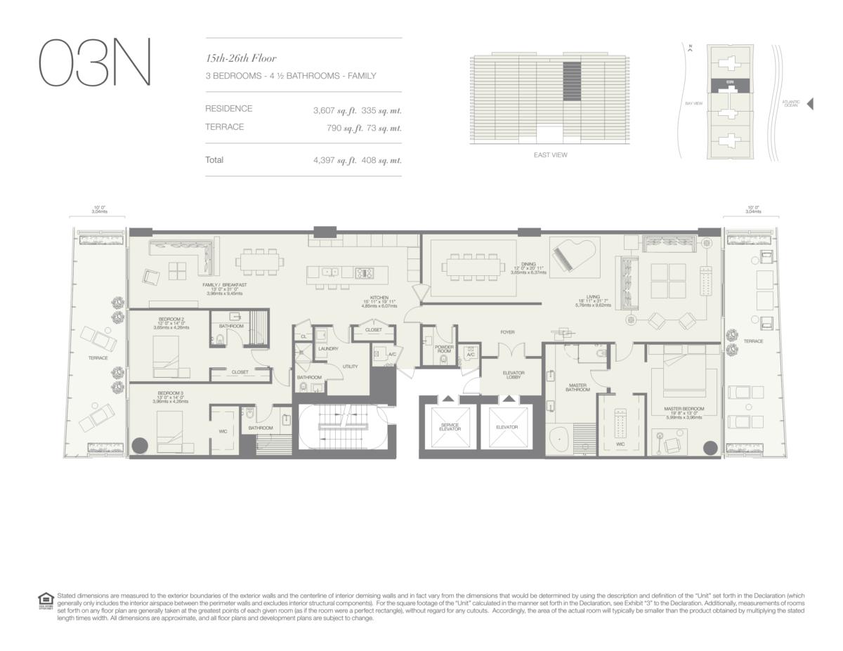 Oceana Bal Harbour - Floorplan 23