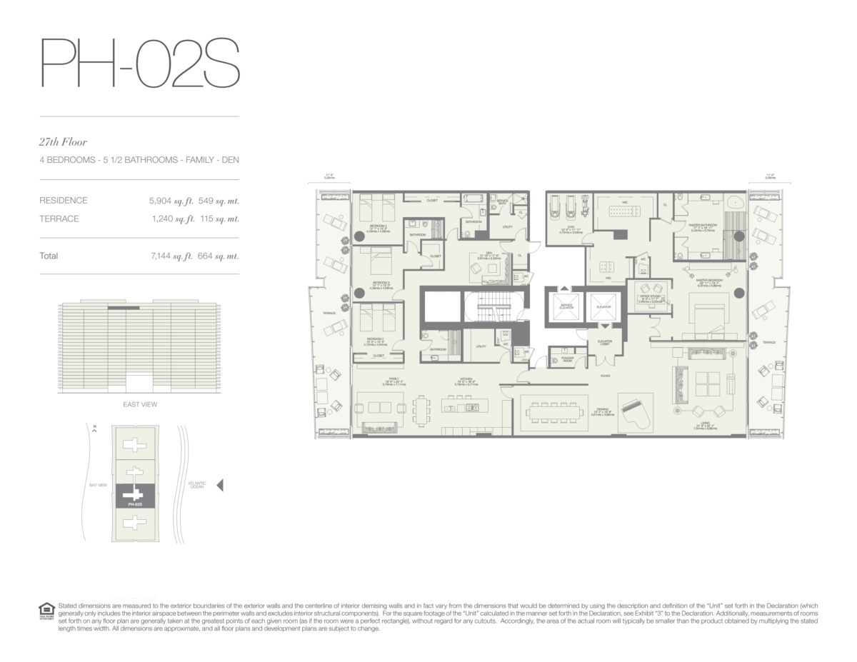Oceana Bal Harbour - Floorplan 25