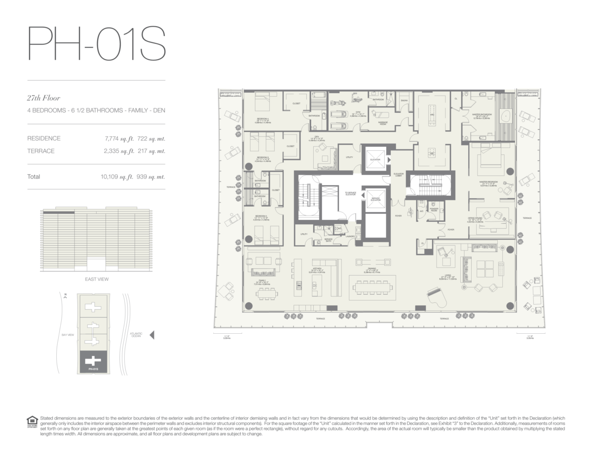 Oceana Bal Harbour - Floorplan 26
