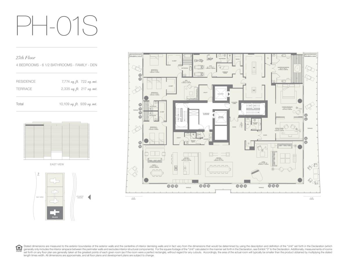 Oceana Bal Harbour - Floorplan 26