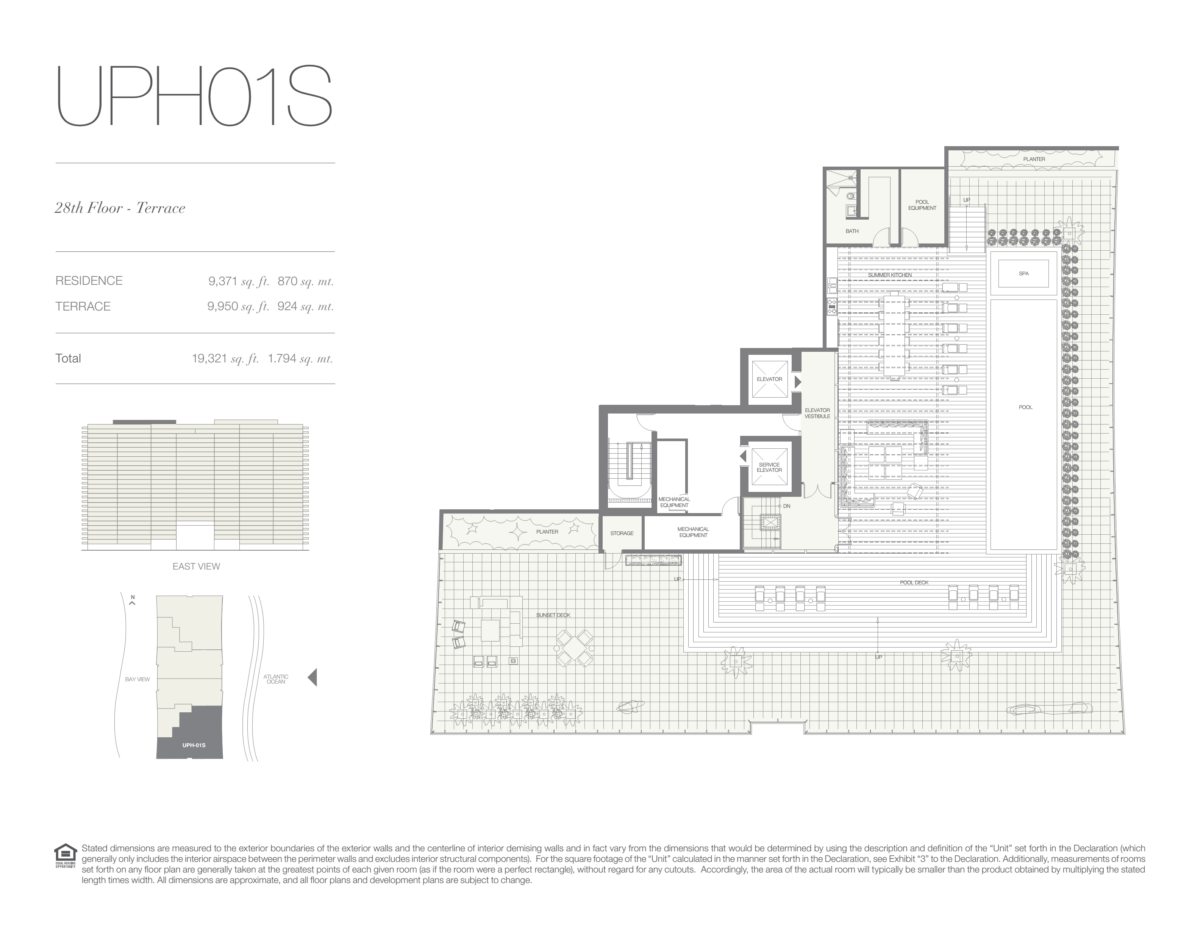 Oceana Bal Harbour - Floorplan 27